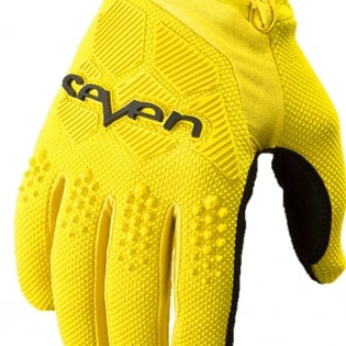 Seven MX Rival Yellow Gloves Image 3