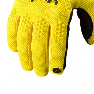 Seven MX Rival Yellow Gloves Image 4