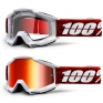 100% Accuri Graham Mirror Lens Goggles