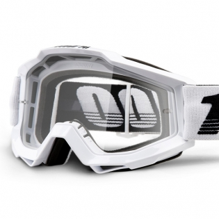 100% Accuri Galactica Clear Lens Goggles Image 2