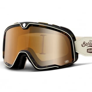 100% Barstow Classic Louis Bronze Lens Goggles Image 2