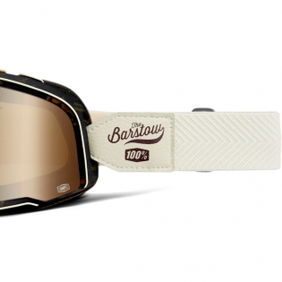 100% Barstow Classic Louis Bronze Lens Goggles Image 4