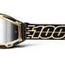100% Racecraft Plus Jiva Injected Silver Mirror Lens Goggles