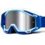 100% Racecraft Plus Rodion Injected Silver Mirror Lens Goggles