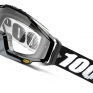 100% Racecraft Abyss Black Clear Lens Goggles