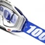 100% Racecraft Cobalt Blue Clear Lens Goggles