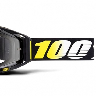 100% Racecraft Cosmos 99 Clear Lens Goggles Image 4