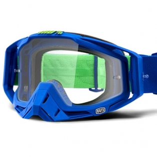 100% Racecraft Dreamflow Clear Lens Goggles Image 2