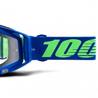 100% Racecraft Dreamflow Clear Lens Goggles Image 3