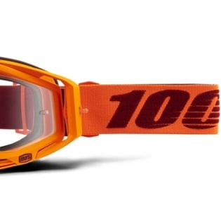 100% Racecraft Menlo Clear Lens Goggles Image 3