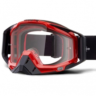 100% Racecraft Hot Rod Clear Lens Goggles Image 2