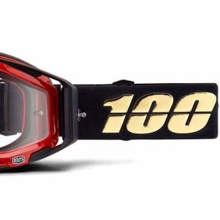 100% Racecraft Hot Rod Clear Lens Goggles Image 3