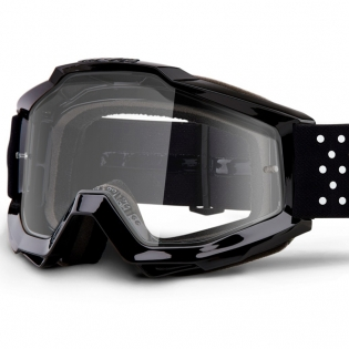 100% Accuri Kids Pistol JR Clear Lens Goggles Image 2