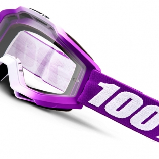 100% Accuri Kids Framboise JR Clear Lens Goggles Image 3