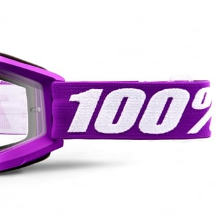 100% Accuri Kids Framboise JR Clear Lens Goggles Image 4