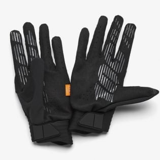 100% Cognito Black Charcoal Gloves Image 3