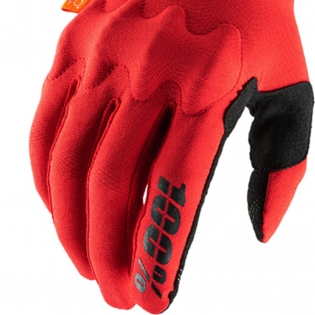 100% Cognito Red Black Gloves Image 4
