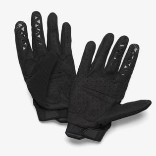 100% Airmatic Blue Black Gloves Image 3