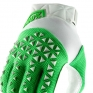 100% Airmatic Silver Fluo Lime Gloves