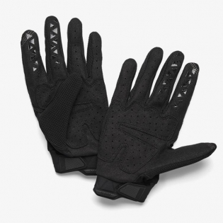 100% Airmatic Kids Black Charcoal Gloves Image 3