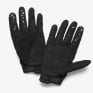 100% Airmatic Kids Black Charcoal Gloves