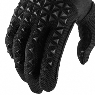 100% Airmatic Kids Black Charcoal Gloves Image 4