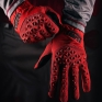 100% Airmatic Kids Red Black Gloves