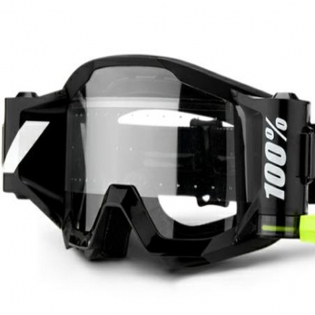 100% Strata Forecast Outlaw Clear Lens Mud Goggles Image 3