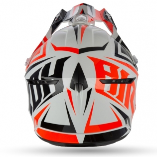 Airoh Switch Impact Orange Gloss Helmet Image 2