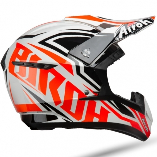 Airoh Switch Impact Orange Gloss Helmet Image 3