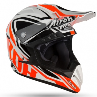 Airoh Switch Impact Orange Gloss Helmet Image 4