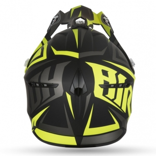 Airoh Switch Impact Yellow Matt Helmet Image 2