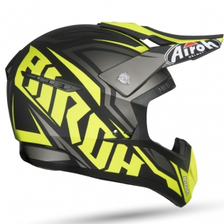 Airoh Switch Impact Yellow Matt Helmet Image 3