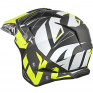 Airoh TRR Convert Yellow Matt Trials Helmet