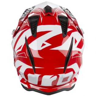 Airoh TRR Convert Red Gloss Trials Helmet Image 3
