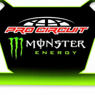 Pro Circuit Monster Energy Pit Board Image 2
