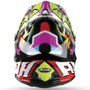 Airoh Archer Junior Mistery Yellow Kids Helmet Image 2