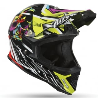 Airoh Archer Junior Mistery Yellow Kids Helmet Image 4