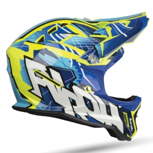 Airoh Archer Junior Bump Blue Kids Helmet Image 2