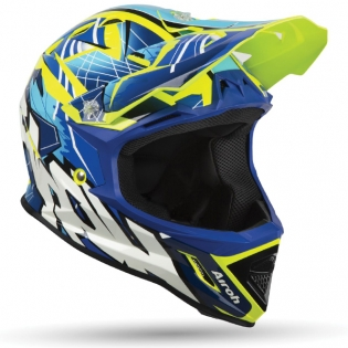 Airoh Archer Junior Bump Blue Kids Helmet Image 3