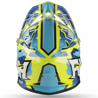 Airoh Archer Junior Bump Blue Kids Helmet Image 4