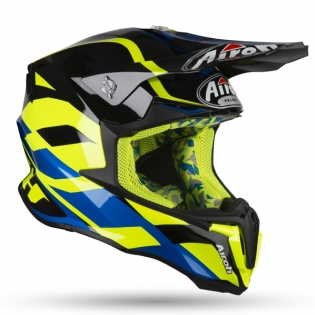 Airoh Twist Great Yellow Gloss Helmet Image 2