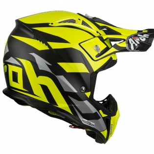 Airoh Aviator 2.3 Great Yellow Helmet Image 4