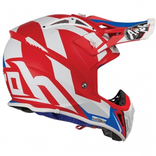 Airoh Aviator 2.3 Bigger Red Helmet Image 2