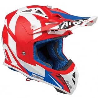 Airoh Aviator 2.3 Bigger Red Helmet Image 3