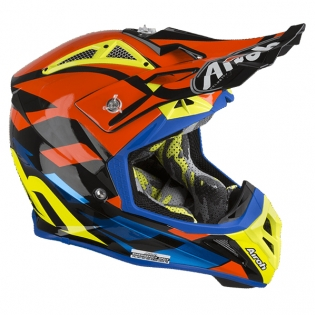 Airoh Aviator 2.3 Great Blue Chrome Helmet Image 2