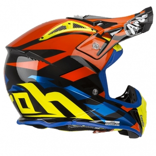 Airoh Aviator 2.3 Great Blue Chrome Helmet Image 3