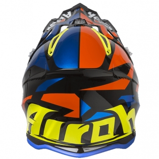 Airoh Aviator 2.3 Great Blue Chrome Helmet Image 4