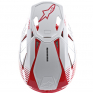 Alpinestars Supertech SM10 Dyno Red White Helmet
