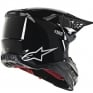 Alpinestars Supertech SM8 Solid Gloss Black Helmet